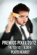 Cartel para los Premios Pixel 2012