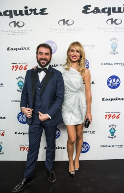 Presentando los Esquire junto a Patricia Conde